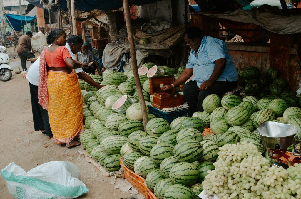 street market in Bhimavaram